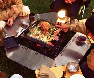 Snow Peak's Iron Grill Table System