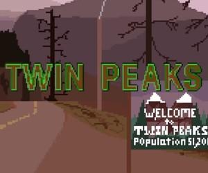 Twin Peaks Intro, 8-bit Style