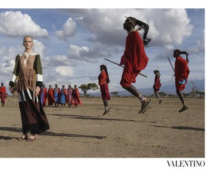 STEVE MCCURRY FOR VALENTINO SPRING/SUMMER 2016