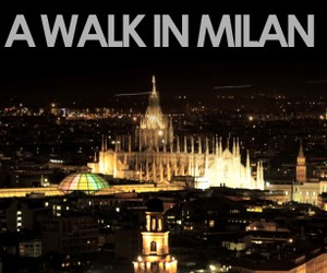 A Walk in Milan by Giuseppe Vetrano