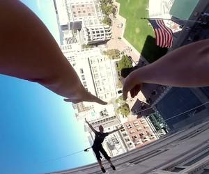 Bandaloop Dancing: Waltz On The Walls Of City Hall