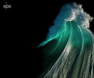 Water - the photographer Ray Collins  his element