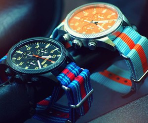 Vintage Driver Chrono by Straton Watch