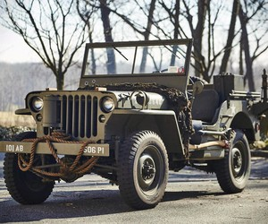 1943 Willys Jeep With Trailer