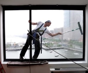 What It's Like to Be a Window Cleaner in New York