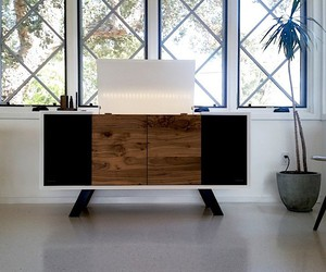 Sonos and Wrensilva build a record player cabinet